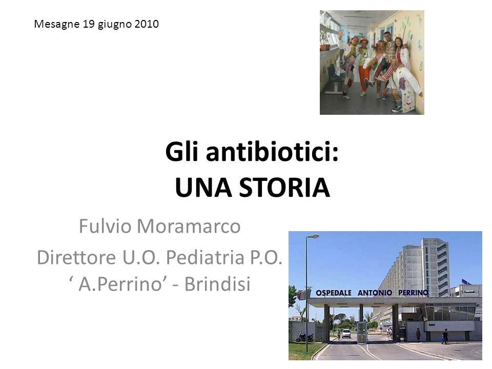 Gli antibiotici: UNA STORIA