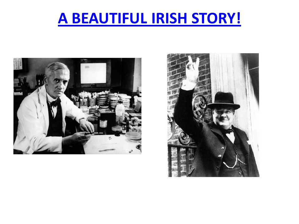 A BEAUTIFUL IRISH STORY!