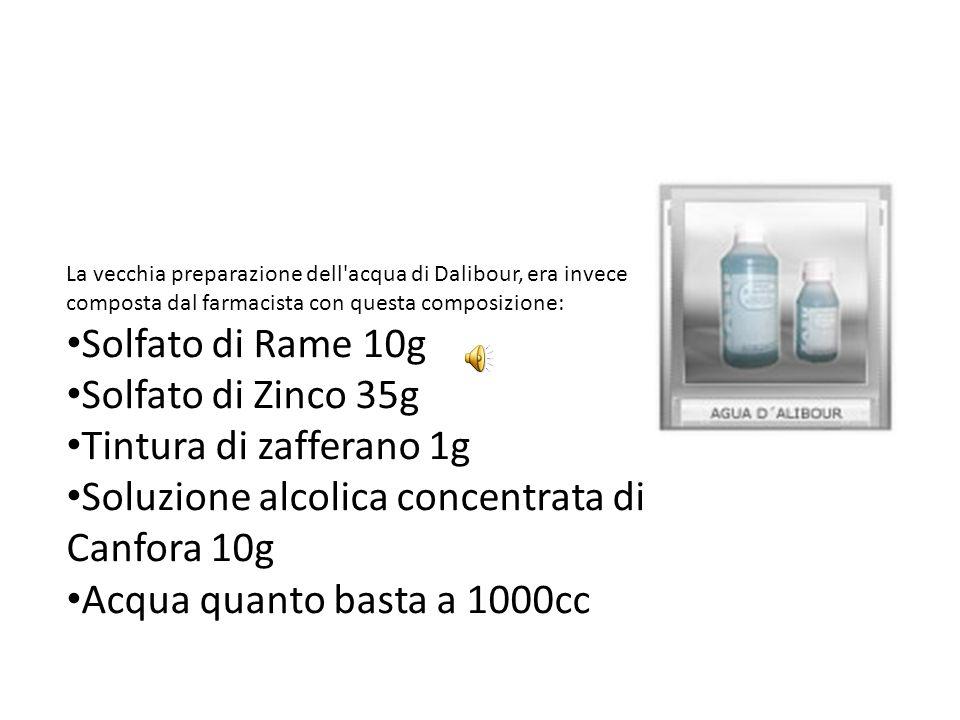 Soluzione alcolica concentrata di Canfora 10g
