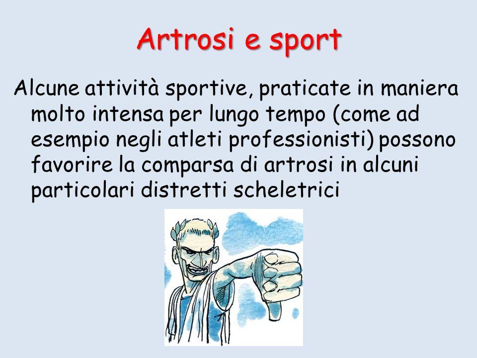 Artrosi e sport
