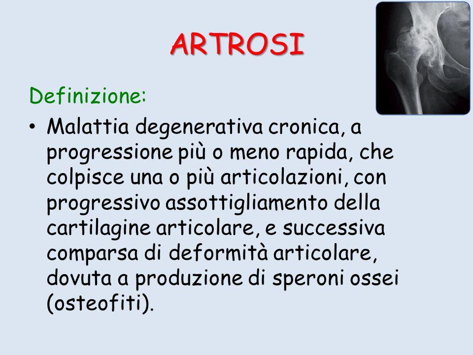 ARTROSI Definizione: