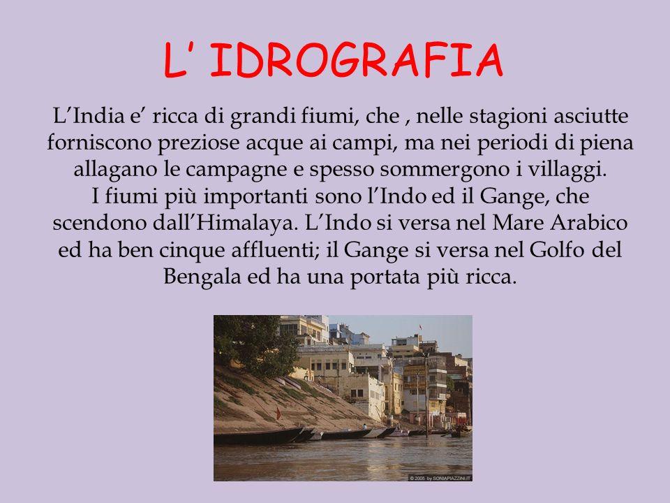 L' IDROGRAFIA