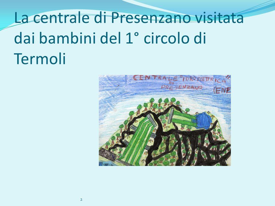 La centrale di Presenzano visitata dai bambini del 1° circolo di Termoli