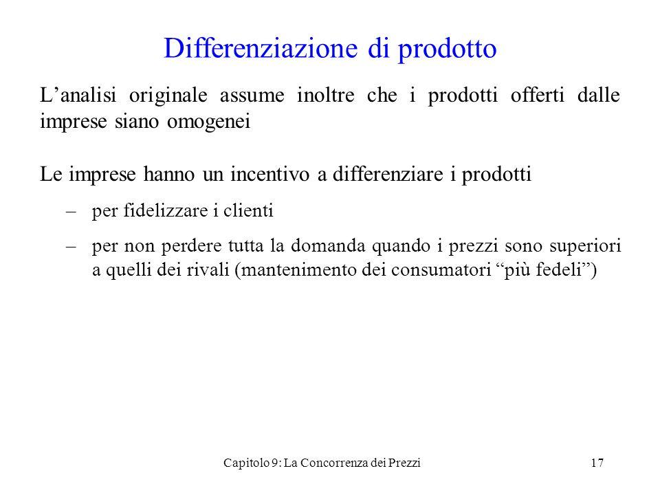 Differenziazione di prodotto