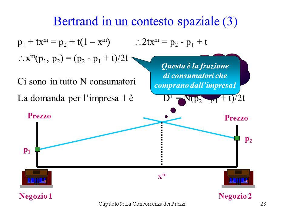 Bertrand in un contesto spaziale (3)