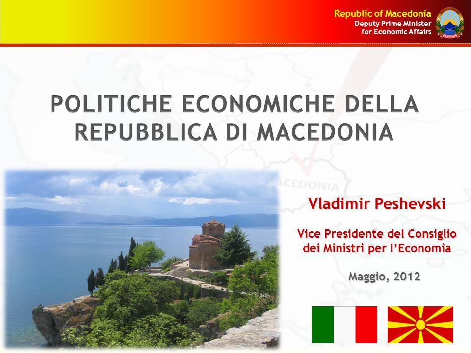 POLITICHE ECONOMICHE DELLA REPUBBLICA DI MACEDONIA