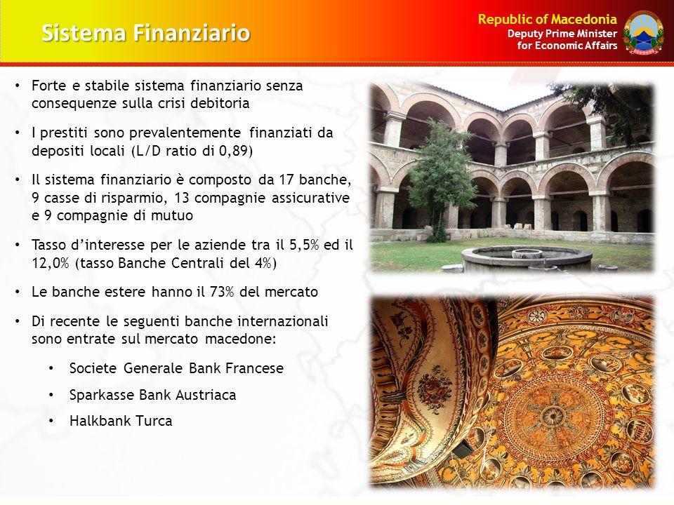 Sistema Finanziario Forte e stabile sistema finanziario senza consequenze sulla crisi debitoria.