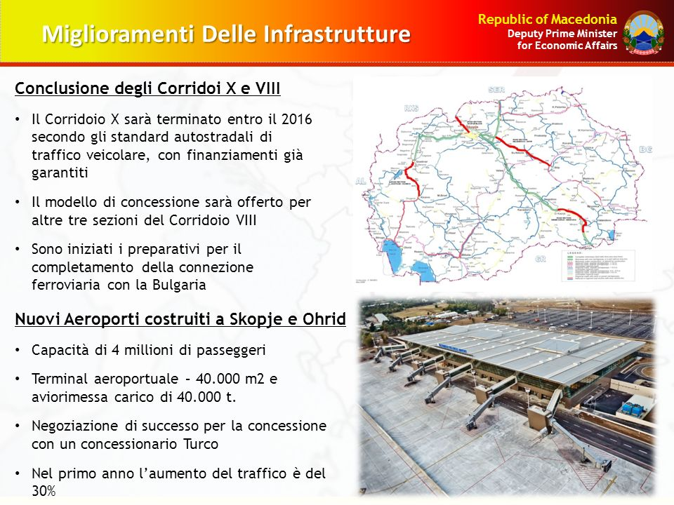 Miglioramenti Delle Infrastrutture