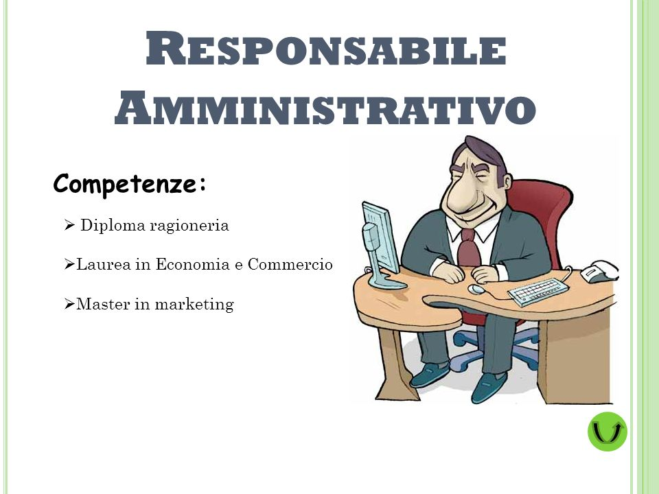 Responsabile Amministrativo