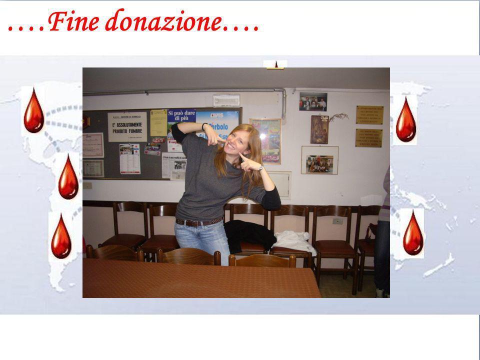 ….Fine donazione….