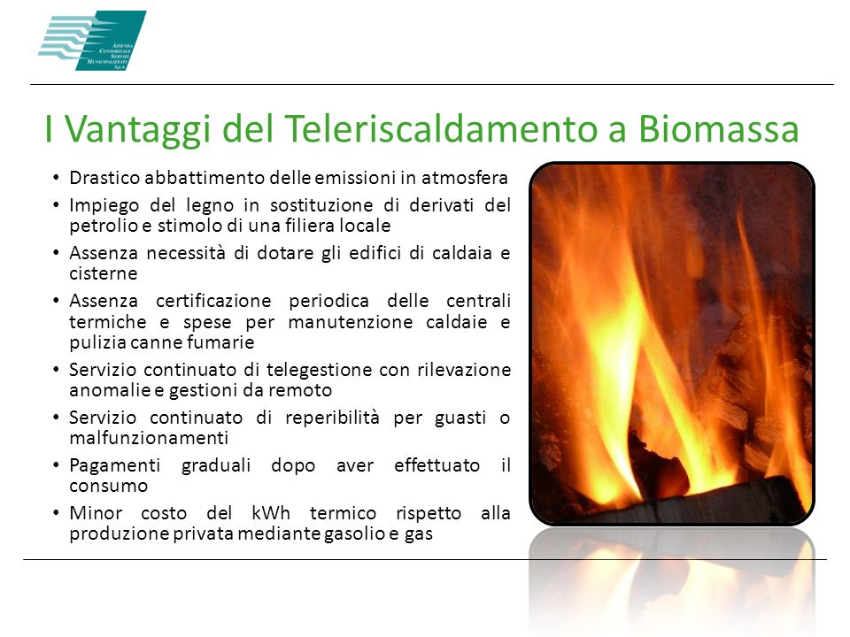 I Vantaggi del Teleriscaldamento a Biomassa