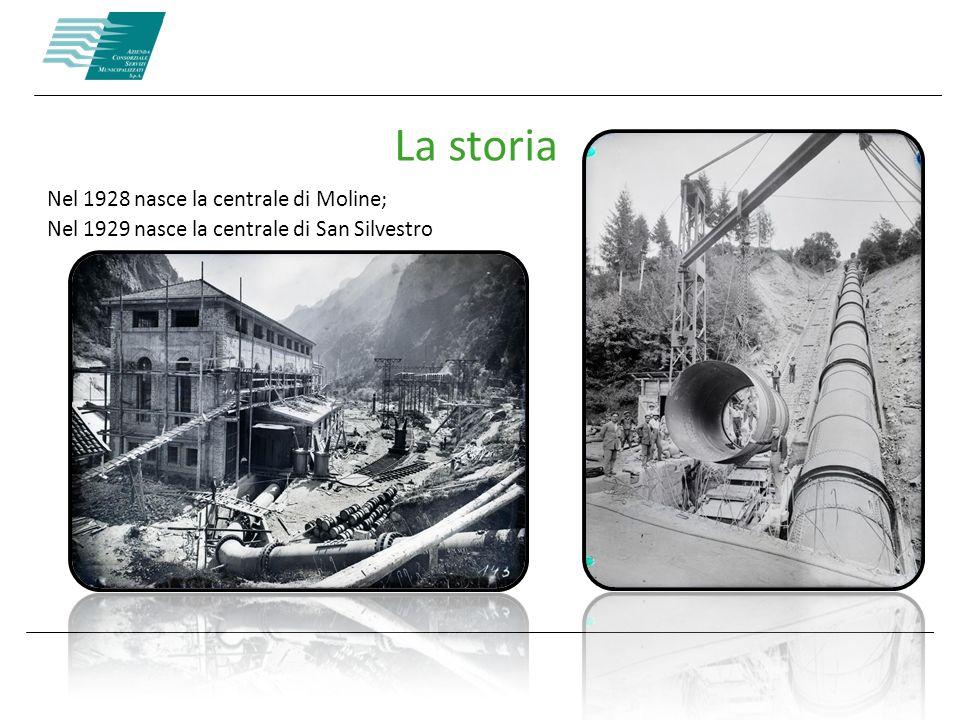 La storia Nel 1928 nasce la centrale di Moline;