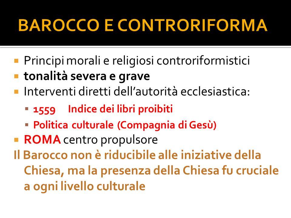 BAROCCO E CONTRORIFORMA