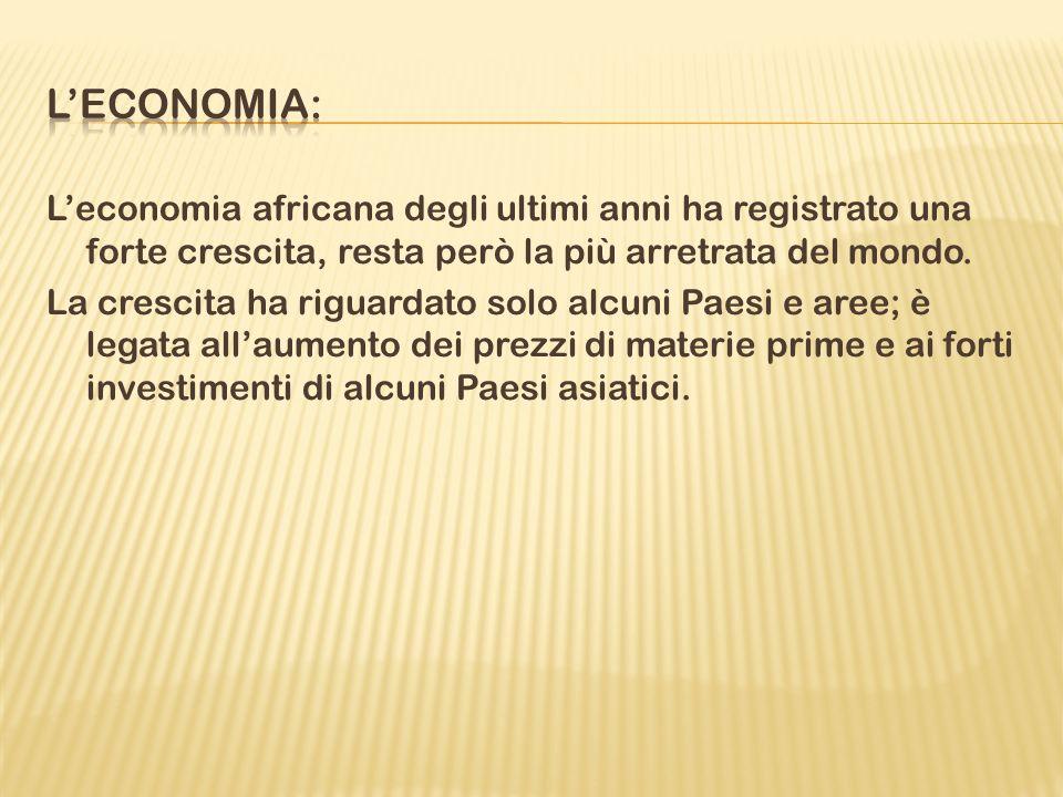 L'economia: