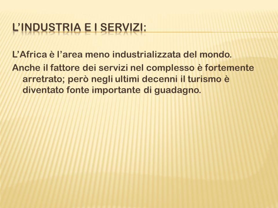 L'industria e i servizi: