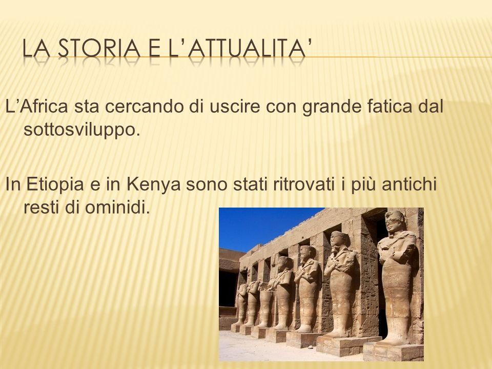 La storia e l'attualita'