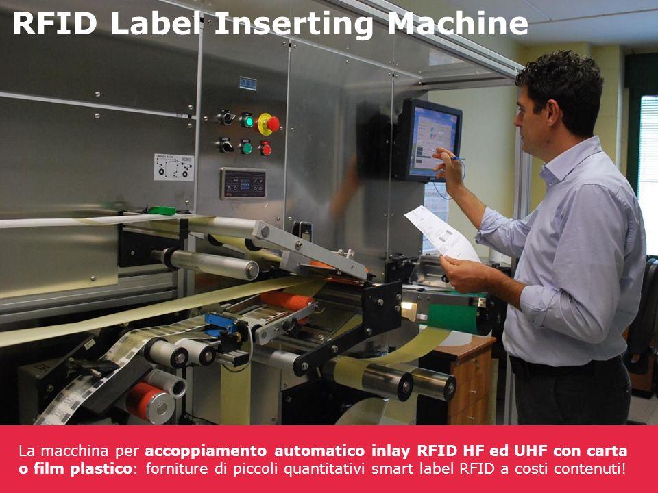 RFID Label Inserting Machine