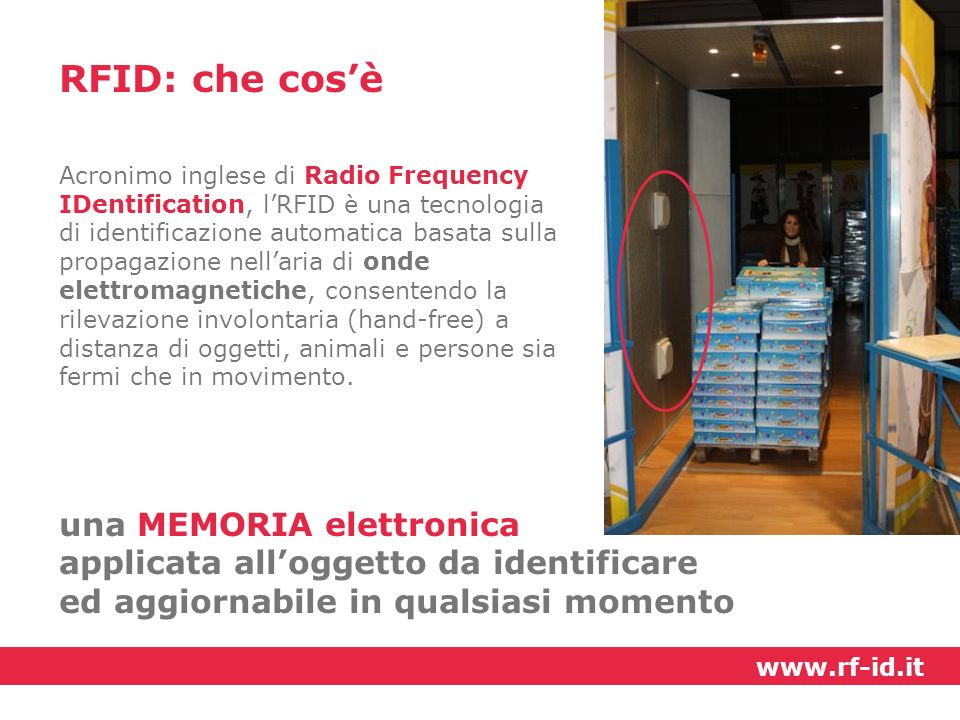 RFID: che cos'è una MEMORIA elettronica