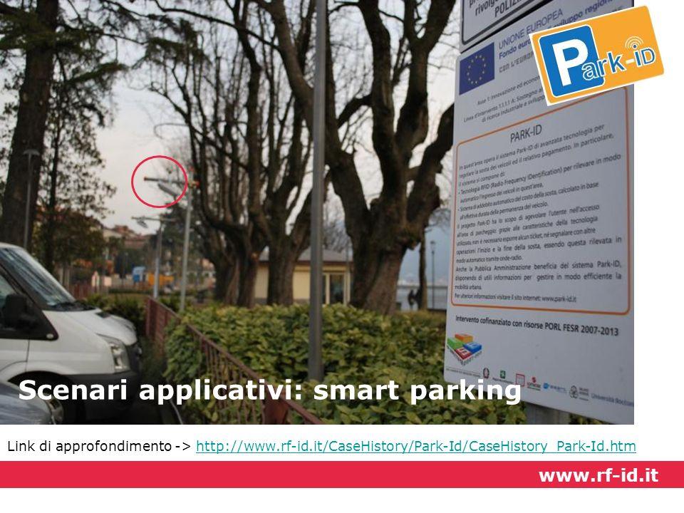 Scenari applicativi: smart parking
