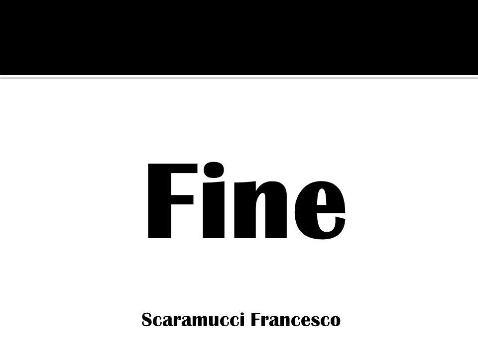 Fine Scaramucci Francesco