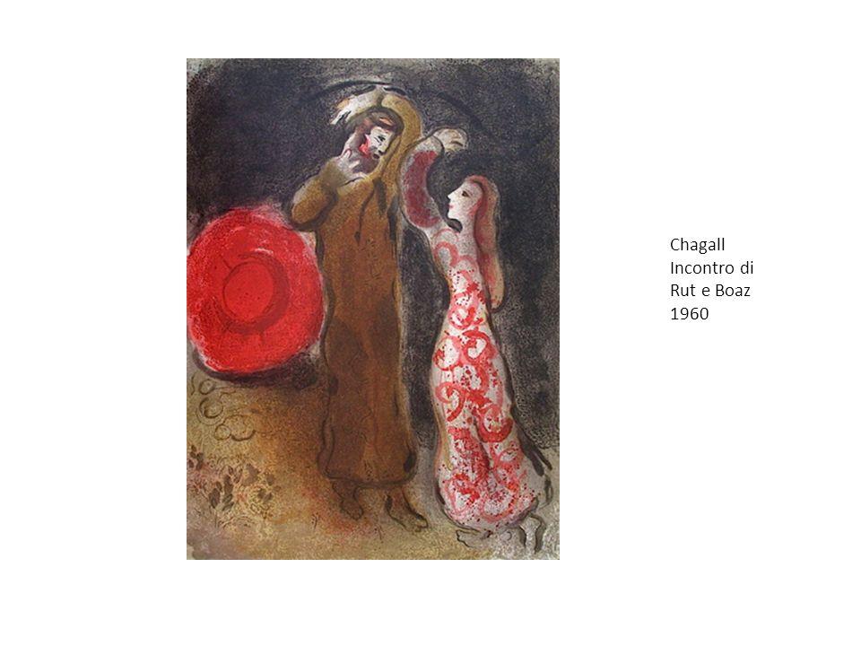 Chagall Incontro di Rut e Boaz 1960