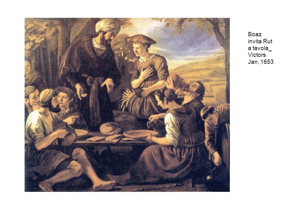 Boaz invita Rut a tavola_