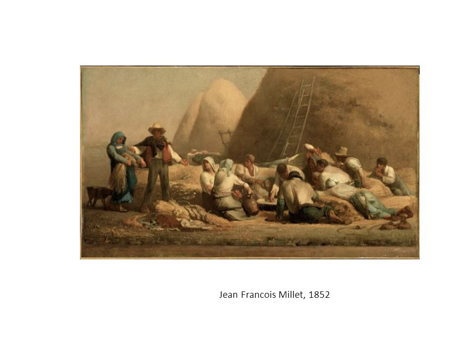 Harvesters Resting (originally titled, Ruth and Boaz ), by Jean Francois Millet, 1852 (Museum of Fine Arts, Boston)