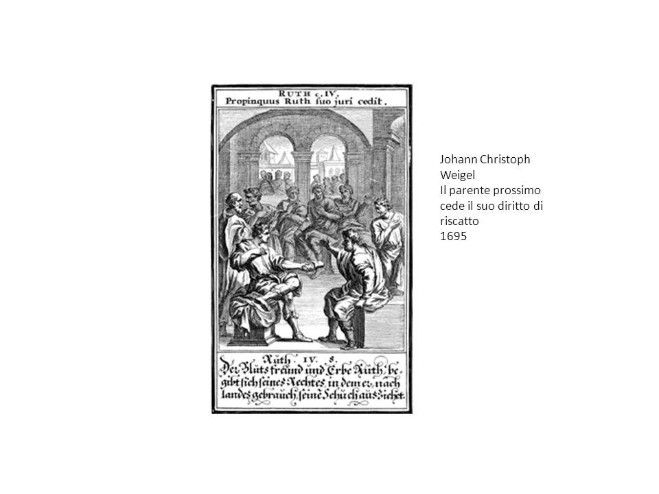 Johann Christoph Weigel Il parente prossimo cede il suo diritto di riscatto