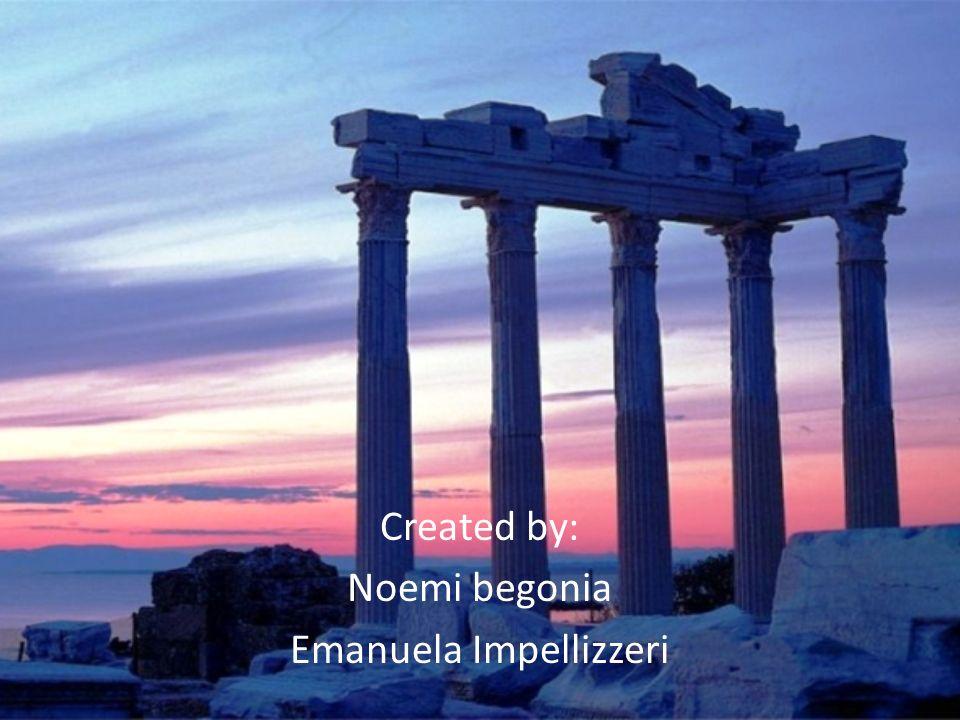 Created by: Noemi begonia Emanuela Impellizzeri