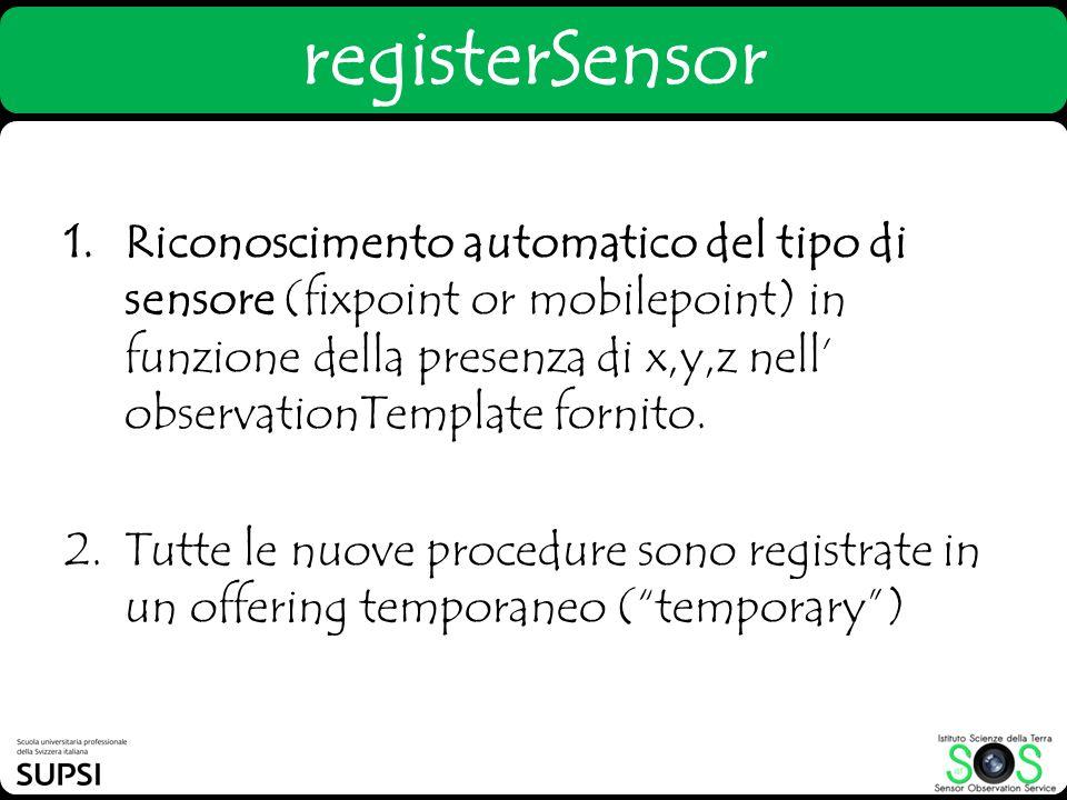 registerSensor