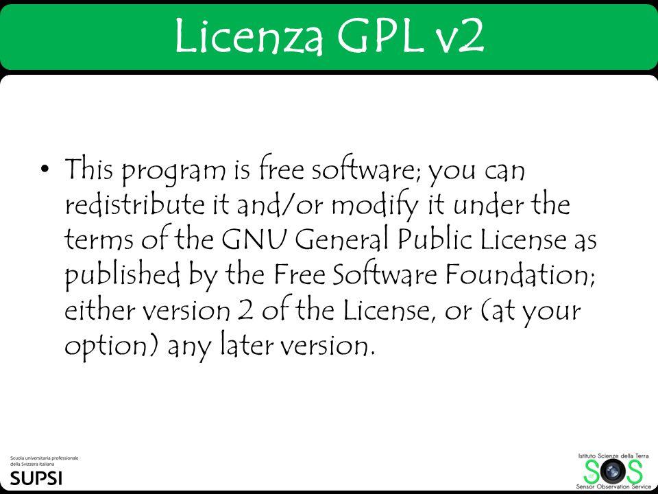 Licenza GPL v2