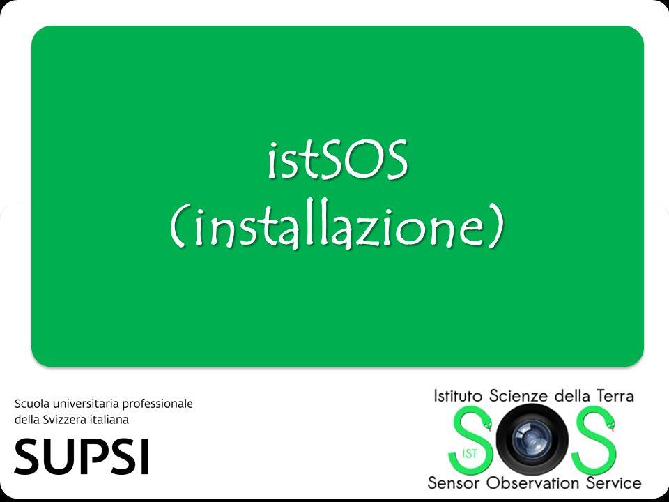 istSOS (installazione)