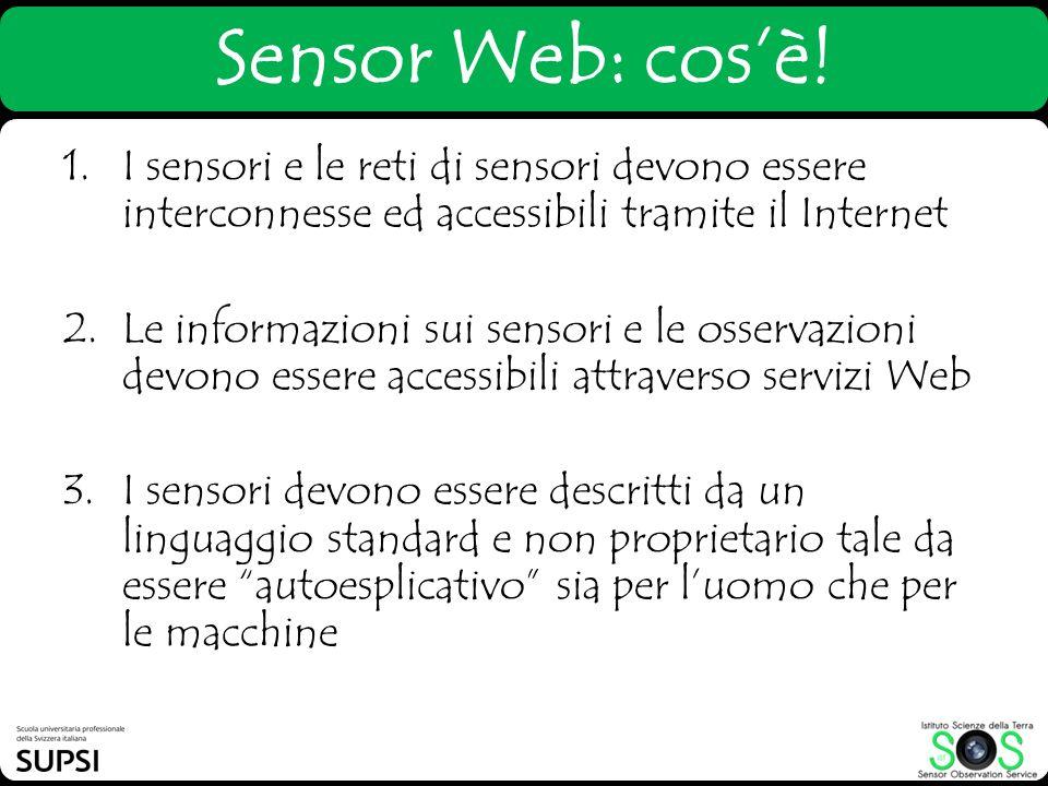 Sensor Web: cos'è!