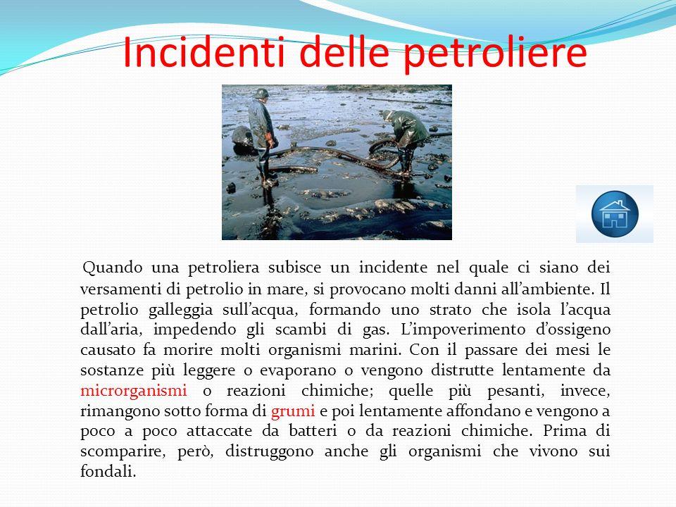 Incidenti delle petroliere