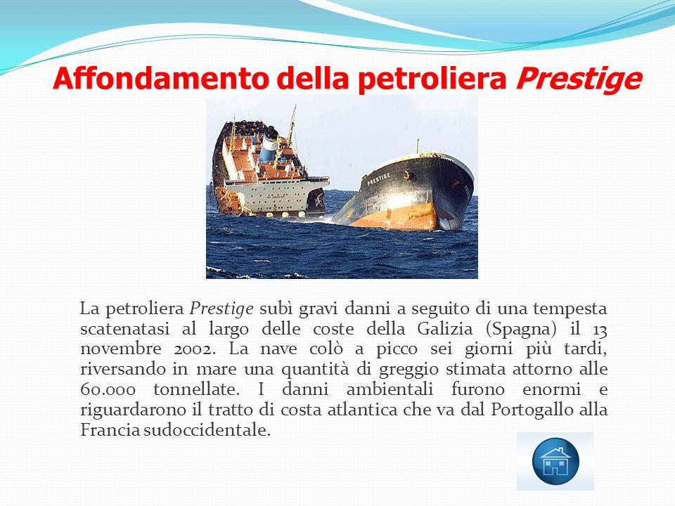 Affondamento della petroliera Prestige