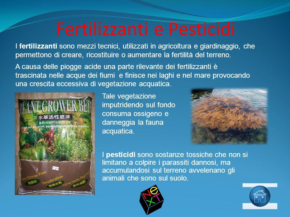 Fertilizzanti e Pesticidi