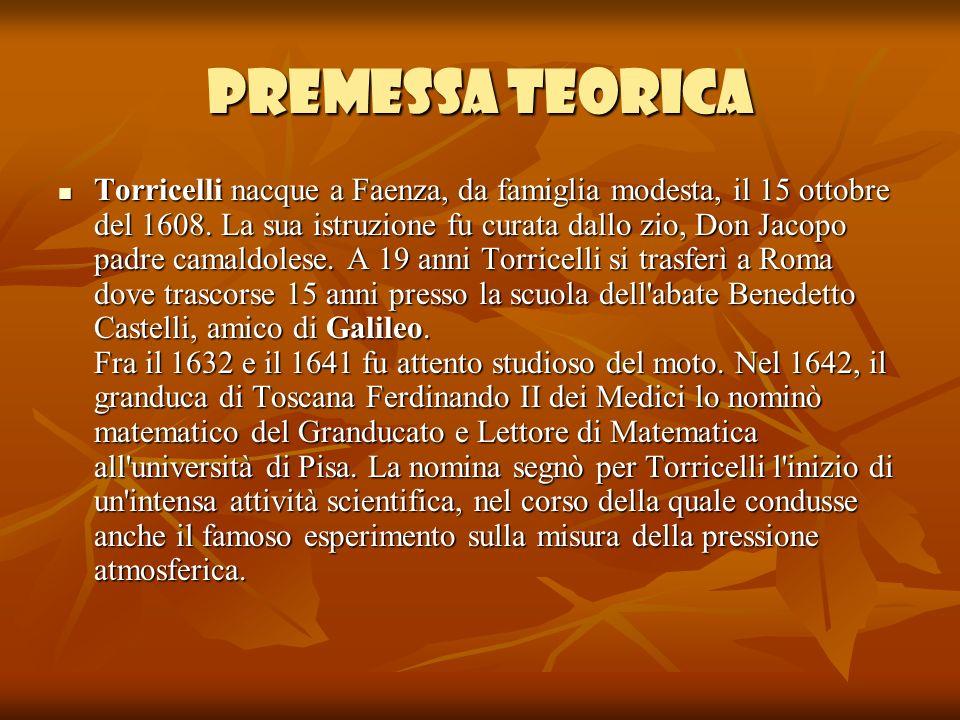 PREMESSA TEORICA
