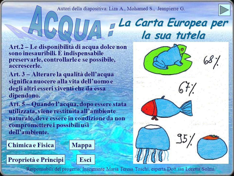 La Carta Europea per la sua tutela