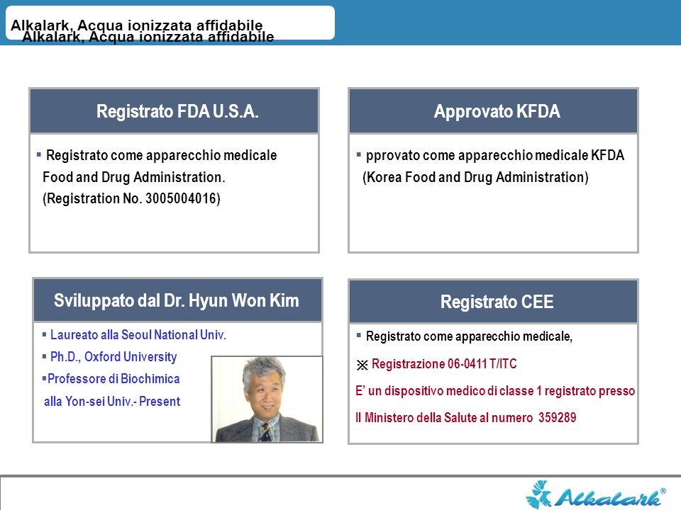Sviluppato dal Dr. Hyun Won Kim