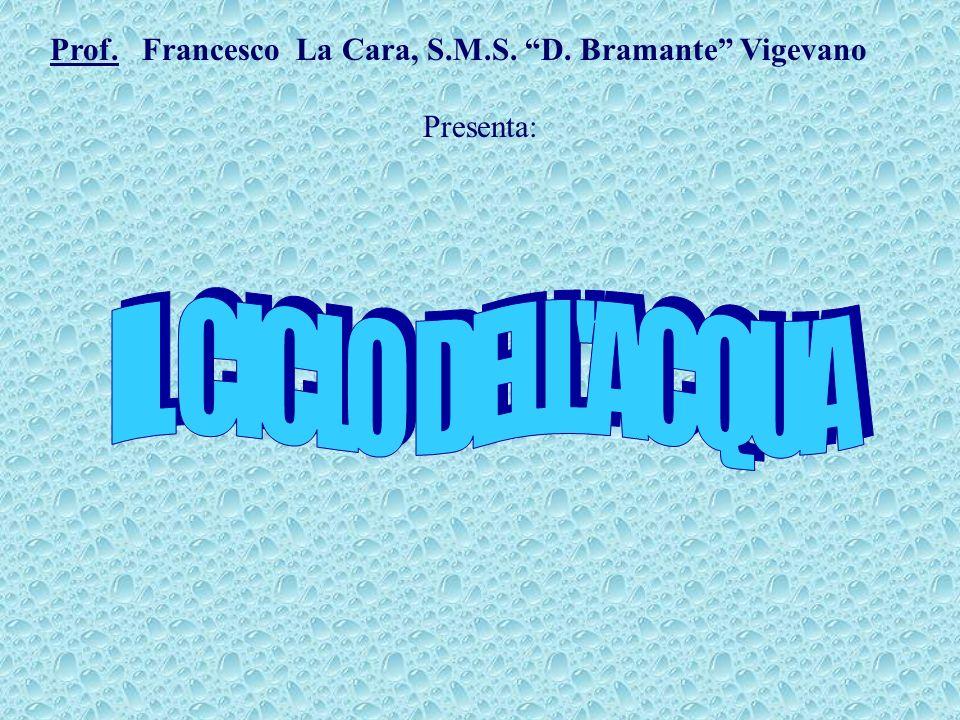 Prof. Francesco La Cara, S.M.S. D. Bramante Vigevano