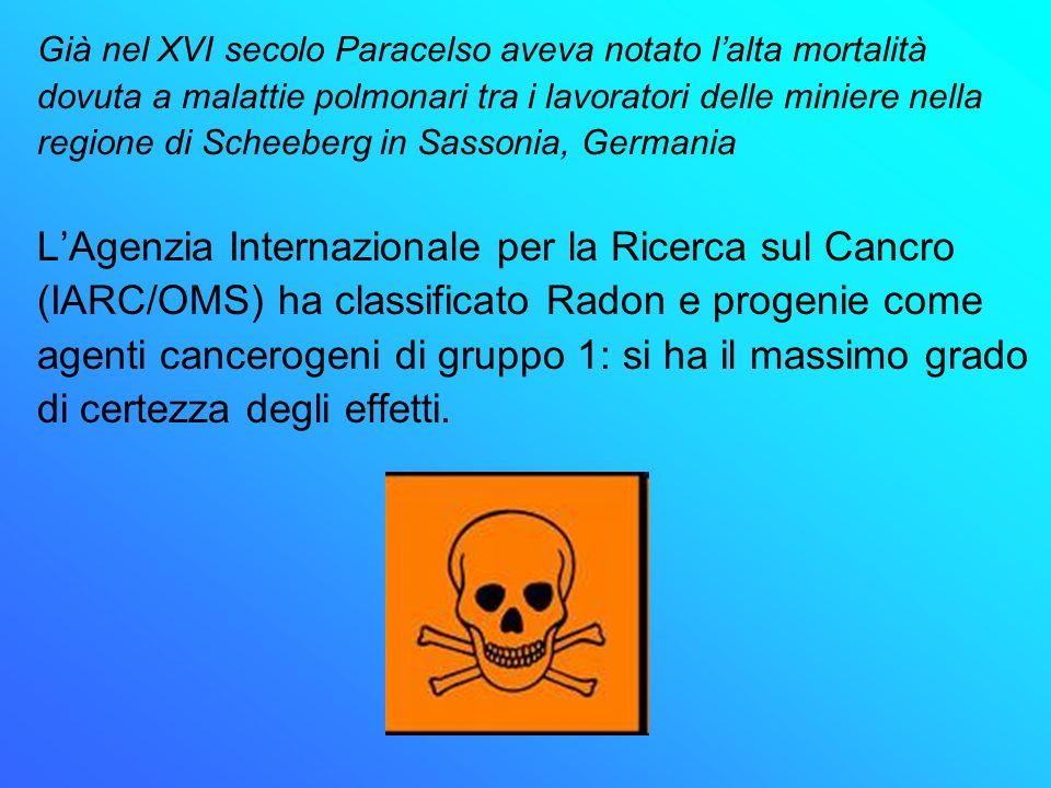 L'Agenzia Internazionale per la Ricerca sul Cancro
