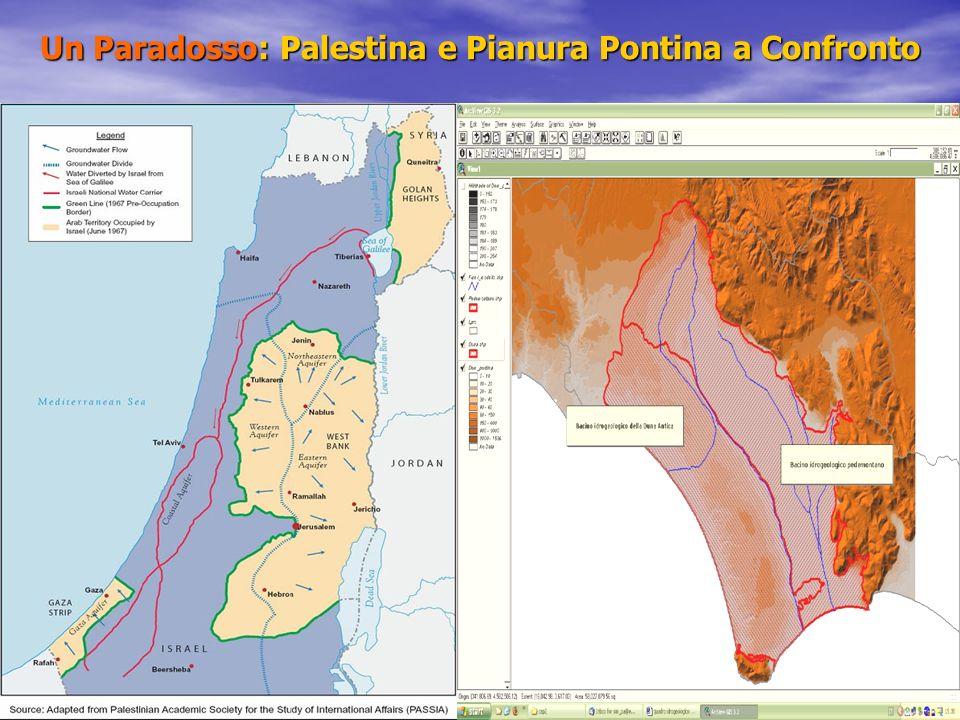 Un Paradosso: Palestina e Pianura Pontina a Confronto