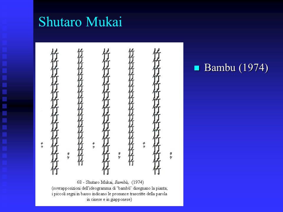 Shutaro Mukai Bambu (1974)