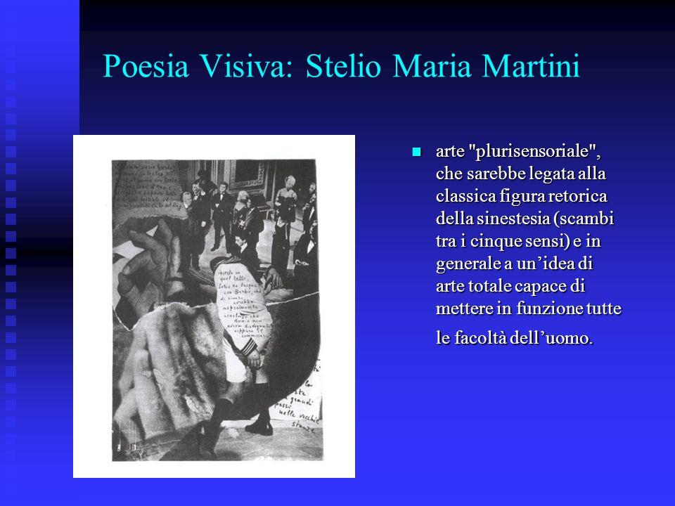 Poesia Visiva: Stelio Maria Martini