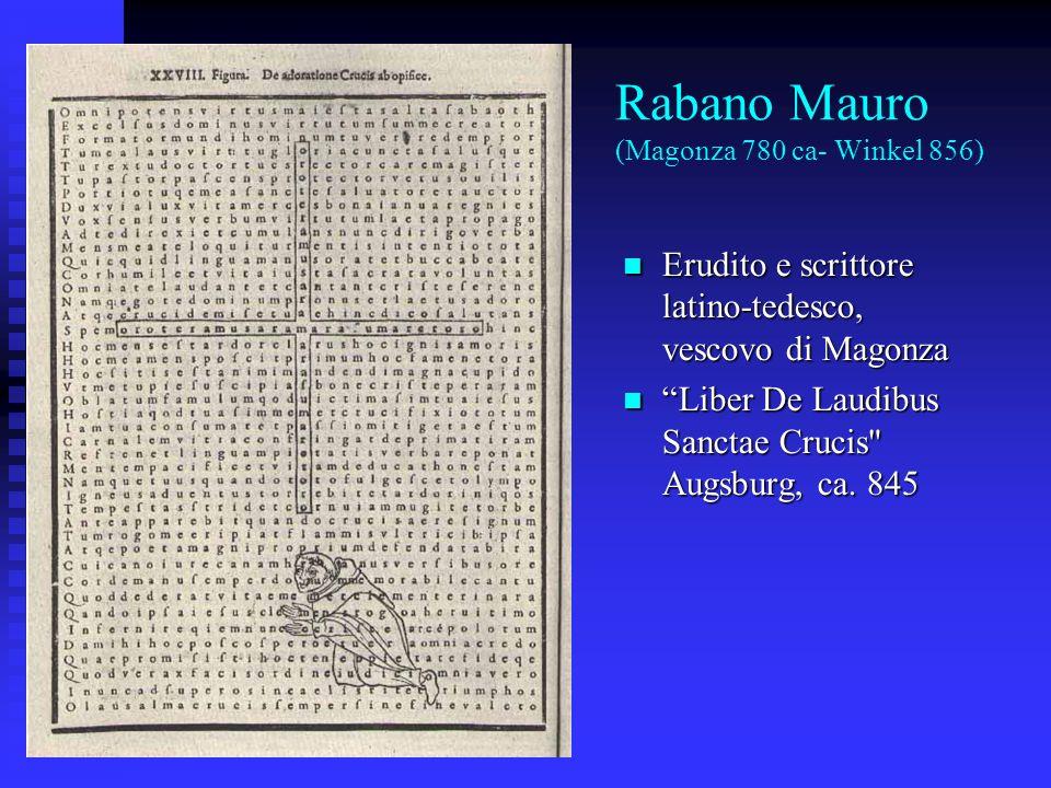Rabano Mauro (Magonza 780 ca- Winkel 856)