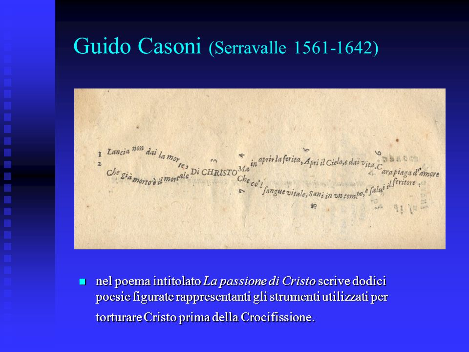 Guido Casoni (Serravalle 1561-1642)