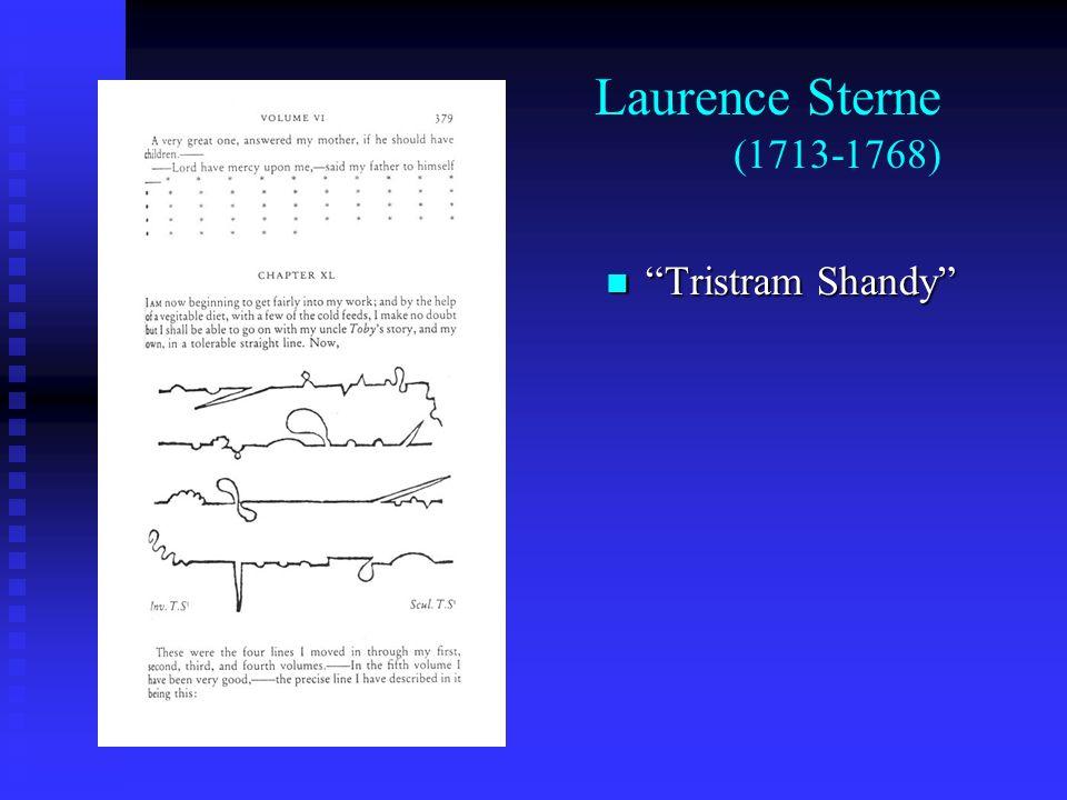Laurence Sterne (1713-1768) Tristram Shandy