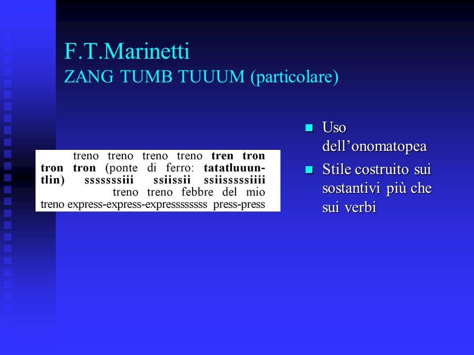 F.T.Marinetti ZANG TUMB TUUUM (particolare)