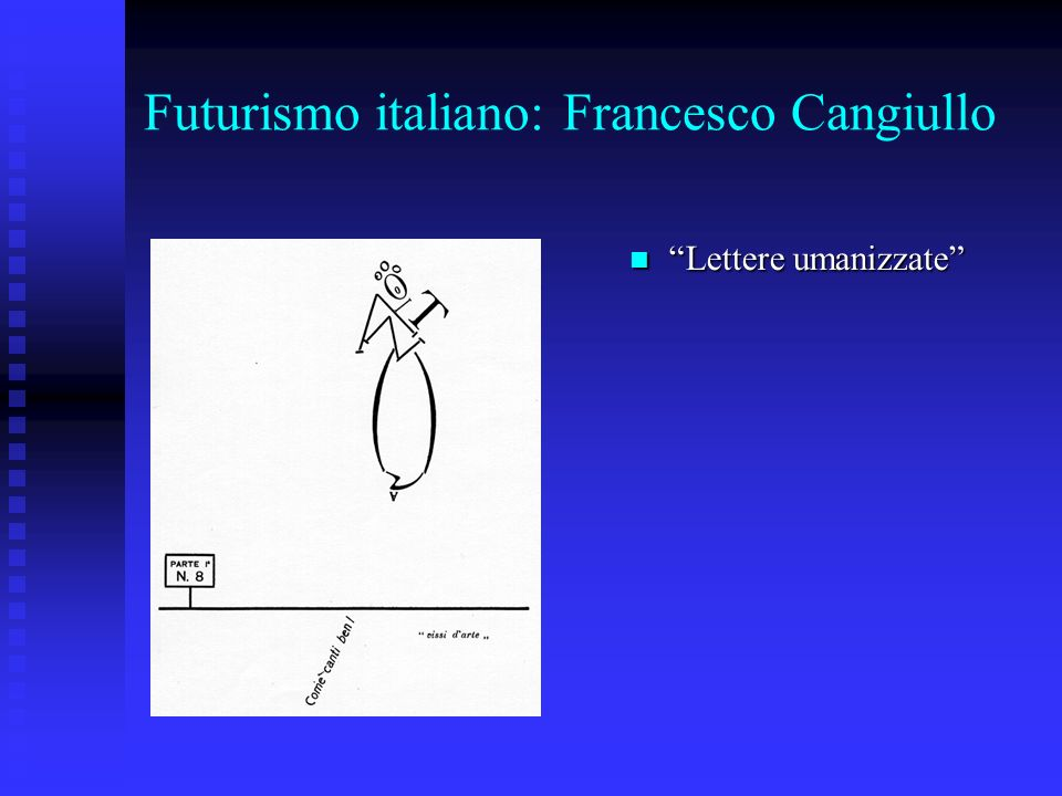 Futurismo italiano: Francesco Cangiullo