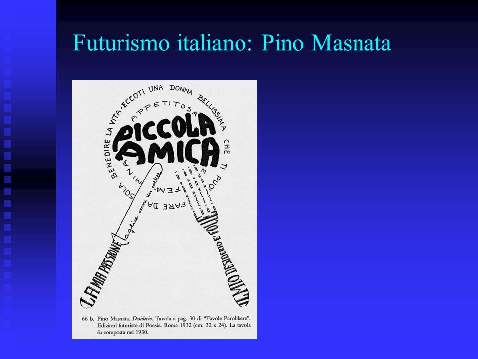 Futurismo italiano: Pino Masnata